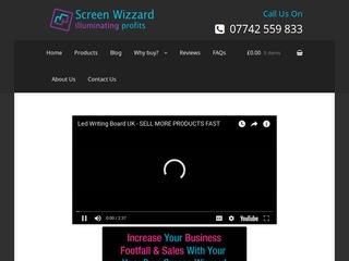 Screen wizzard